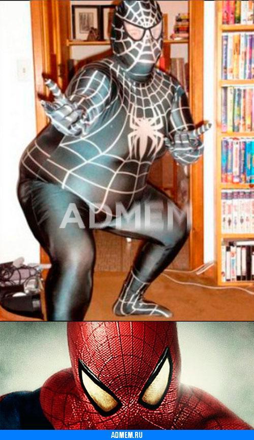Пародия человек паук