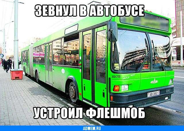 Правда жизни автобусы флешмоб