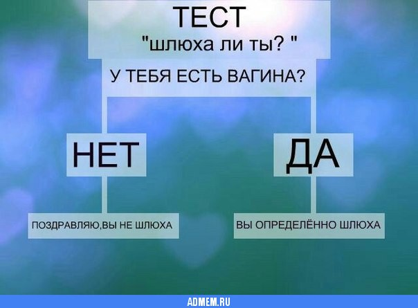 Тест Шлюха Или Нет